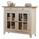 Liberty Furniture Al Fresco Server in Driftwood/Sand 841-SR5043