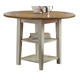 Liberty Furniture Al Fresco Drop Leaf Leg Table in Driftwood/Sand 841-T4242