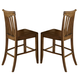 Liberty Furniture Arbor Hills Slat Back Counter Chair (Set of 2) in Sandstone 92-B150024