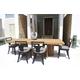Skyline Design Dann Foley Highland/Rodeo 7pc Rectangular Dining Table Set