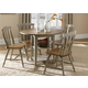Liberty Furniture Al Fresco 6 Piece Drop Leaf Dining Set in Driftwood/Taupe