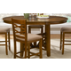 Liberty Furniture Bistro Gathering Table in Honey 64-GTB4866
