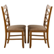 Liberty Furniture Bistro Double X-Back Side Chair (Set of 2) in Honey 64-C3001S