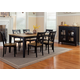 Liberty Furniture Al Fresco 7 Piece Rectangular Dining Set in Driftwood/Black