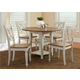 Liberty Furniture Al Fresco 6 Piece Drop Leaf Dining Set in Driftwood/Sand