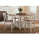 Liberty Furniture Al Fresco 5 Piece Gathering Dining Set in Driftwood/Sand