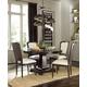 Universal Furniture 5pc Proximity Round Dining Room Set in Sumatra Finish