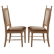 Liberty Furniture Cottage Cove Upholstered Side Chair (Set of 2) in Weathered Ivory/Maple 157-C4001S