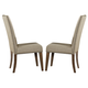 Liberty Furniture Ivy Park Upholstered Side Chair (Set of 2) in Weathered Honey/Silver Pewter 563-C6501S