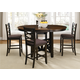Liberty Furniture Bistro 5 Piece Gathering Dining Set in Honey/Espresso