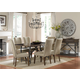 Liberty Furniture Ivy Park 7 Piece Rectangular Dining Set in Weathered Honey/Silver Pewter