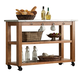 Liberty Furniture Keaton Server in Honey 119-SR5666