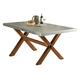Liberty Furniture Keaton Trestle Table in Honey 119-T3876