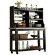 Liberty Furniture Keaton Server w/ Hutch in Charcoal 219-CD-SH