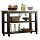 Liberty Furniture Keaton Server in Charcoal 219-SR5666