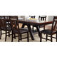 Liberty Furniture Lawson Pedestal Table in Light/Dark Expresso 116-TP4090