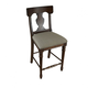 A-America Andover Park T-Back Counter Stool in Antique Cherry (Set of 2) ADVAC357K