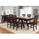 Liberty Furniture Lawson 7 Piece Pedestal Dining Set in Light & Dark Expresso