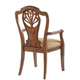 Fine Furniture Antebellum Splat Back Arm Chair in Hermitage (Set of 2) 920-821