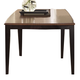 A-America Bristol Point Butterfly Leg Table in Oak/Espresso BTLOE6320