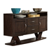 Liberty Furniture Southpark Server in Charcoal 623-SR5636
