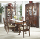 Fine Furniture Antebellum 7 Piece Double Pedestal Dining Set in Hermitage