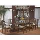 Fine Furniture Antebellum 9 Piece Banquet Dining Set in Hermitage
