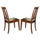Liberty Furniture Tahoe Slat Back Side Chair (Set of 2) in Mahogany Stain 555-C1500S