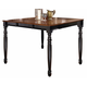 A-America British Isles Counter Height Dining Table in Oak/Black BRIOB6720