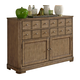 Liberty Furniture Weatherford Server in Weathered Gray 645-SR5238