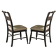 Liberty Furniture Whitney Slat Back Side Chair (Set of 2) in Black Cherry 661-C1501S