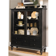 Liberty Furniture Whitney Display Cabinet in Black Cherry 661-CH5468