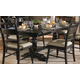 Liberty Furniture Whitney Trestle Table in Black Cherry 661-TP4294