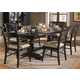 Liberty Furniture Whitney 7 Piece Trestle Dining Set in Black Cherry