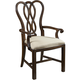 Fine Furniture Hyde Park Arm Chair (Set of 2) in Saint James 1110-821