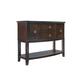 Standard Furniture Park Avenue Sideboard in Espresso Stain 11942