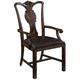 Fine Furniture Hyde Park Splat Back Arm Chair (Set of 2) in Saint James 1110-827
