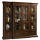 Fine Furniture Hyde Park Curio with Flat Top and Piers in Saint James 1110-830P
