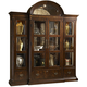 Fine Furniture Hyde Park Curio with Crown Top and Piers in Saint James 1110-830TP