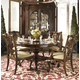 Fine Furniture American Cherry 5pc Marlborough Dining Table & Alexandria Chairs Dining Room Set 1020