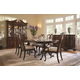 Fine Furniture American Cherry 7pc Fredericksburg Dining Table & Brandywine Chairs Dining Room Set 1020
