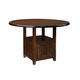 Standard Furniture Sonoma Round Counter Height Table in Rich Tobacco 11906
