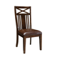 Standard Furniture Sonoma Side Chairs in Rich Tobacco (Set of 2) 11904