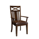 Standard Furniture Sonoma Arm Chairs in Rich Tobacco (Set of 2) 11905