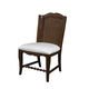 Fine Furniture Summer Home Wicker Back Side Chair in Lodge (Set of 2) 1050-824