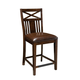 Standard Furniture Sonoma Barstool in Rich Tobacco (Set of 2) 11914