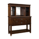 Standard Furniture Sonoma Sideboard with Hutch in Rich Tobacco 11923