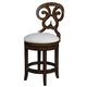 Fine Furniture Summer Home Swivel Counter Stool in Lodge (Set of 2 ) 1050-927-S