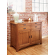 A-America Cattail Bungalow Sideboard in Amber CATAM9010