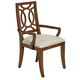 Fine Furniture Boulevard Wood Dining Arm Chair in Gateway (Set of 2) 1360-821